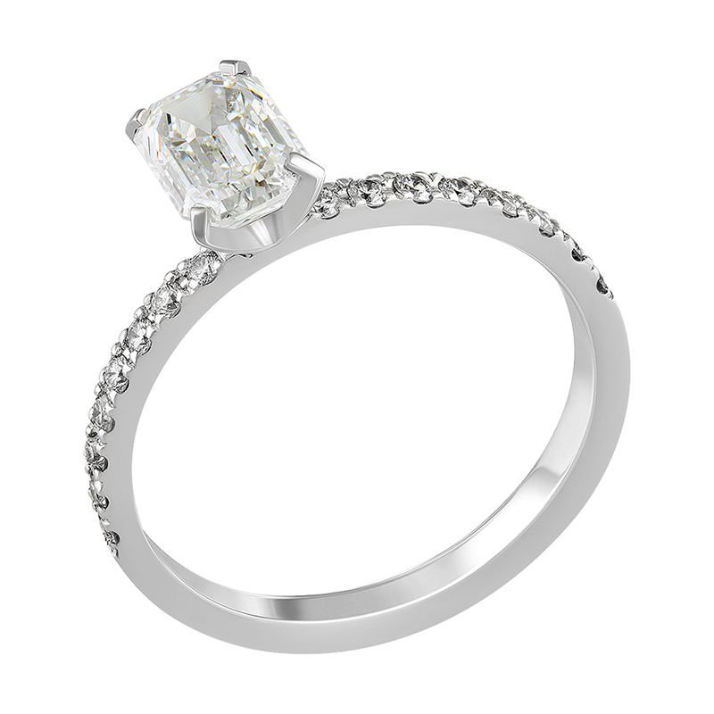 Diamond ring 1.00 ct