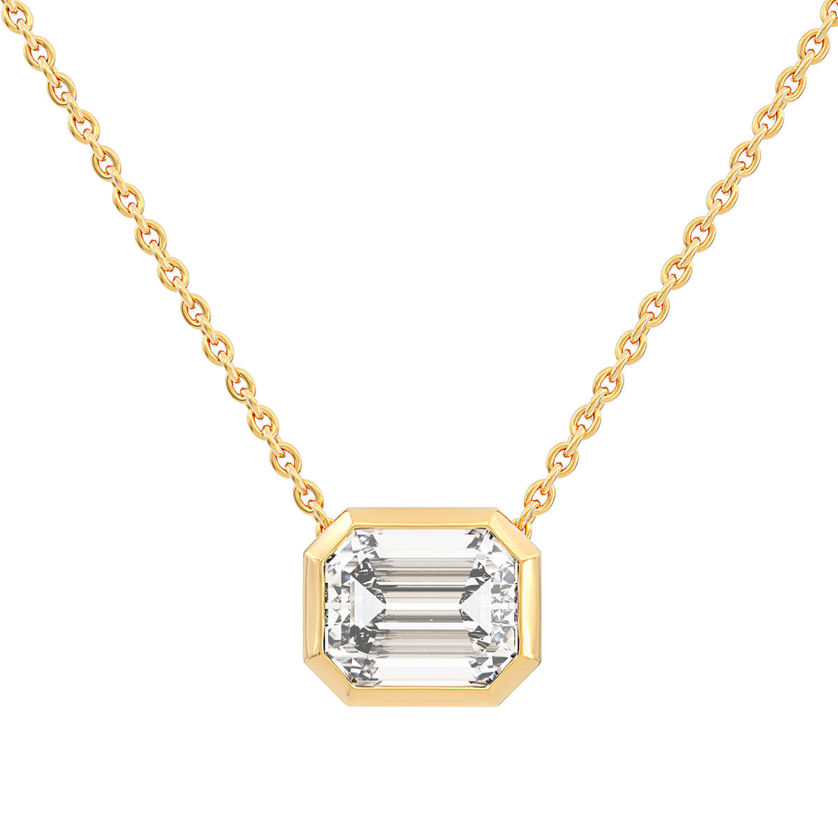 Necklace with diamond 1.61 ct